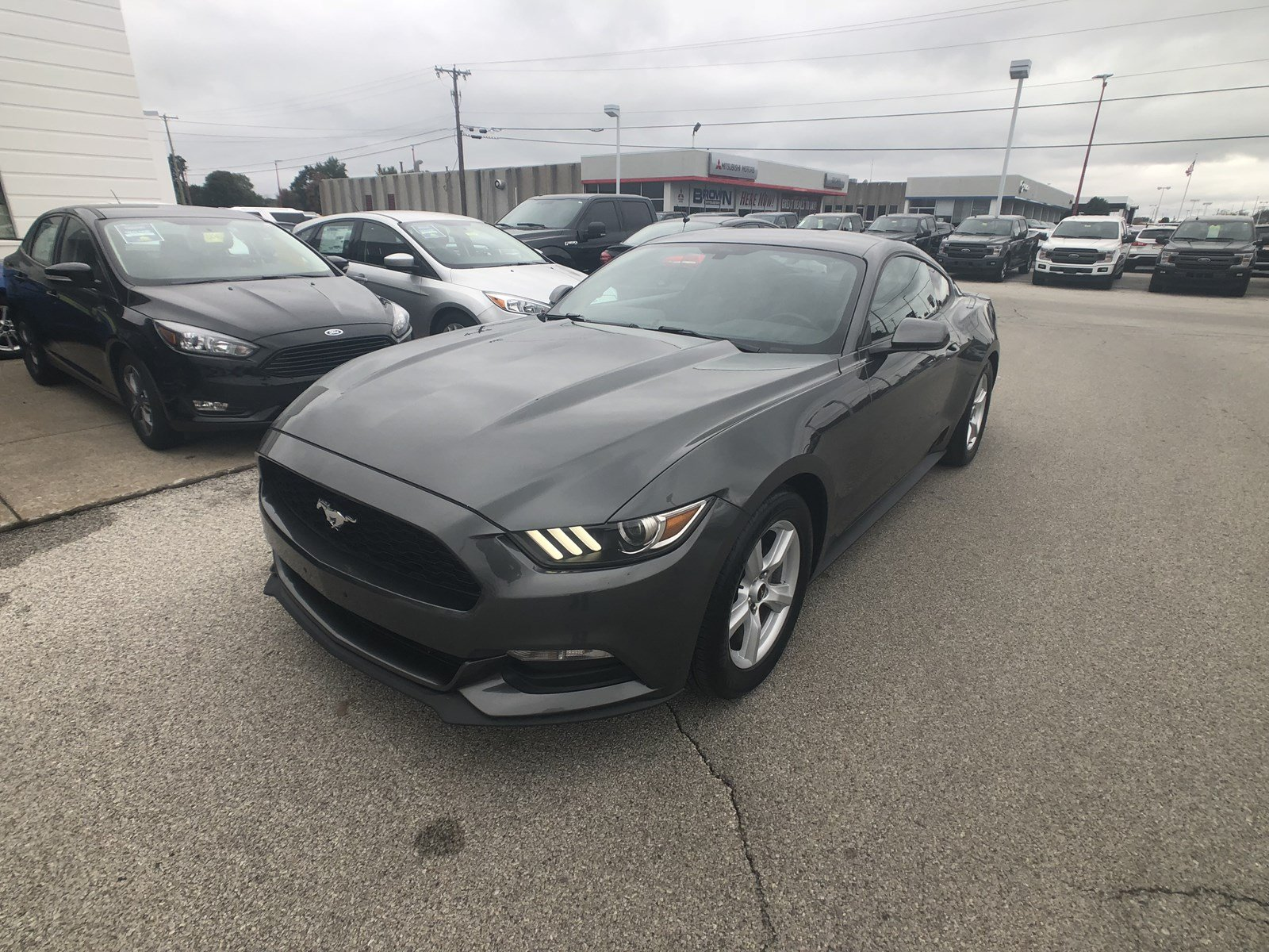 Pre Owned 2016 Ford Mustang V6 2dr Car in Toledo A