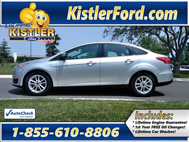 Pre-Owned 2016 Ford Focus SE FWD 4dr Car