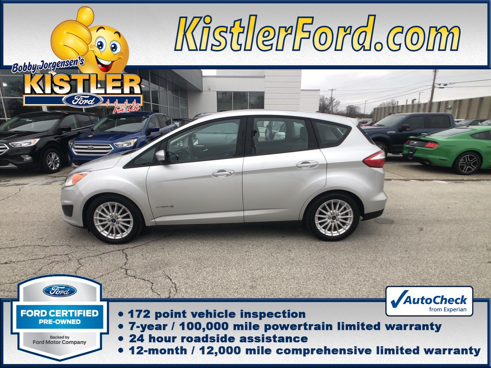 Certified Pre Owned 2016 Ford C Max Hybrid Se