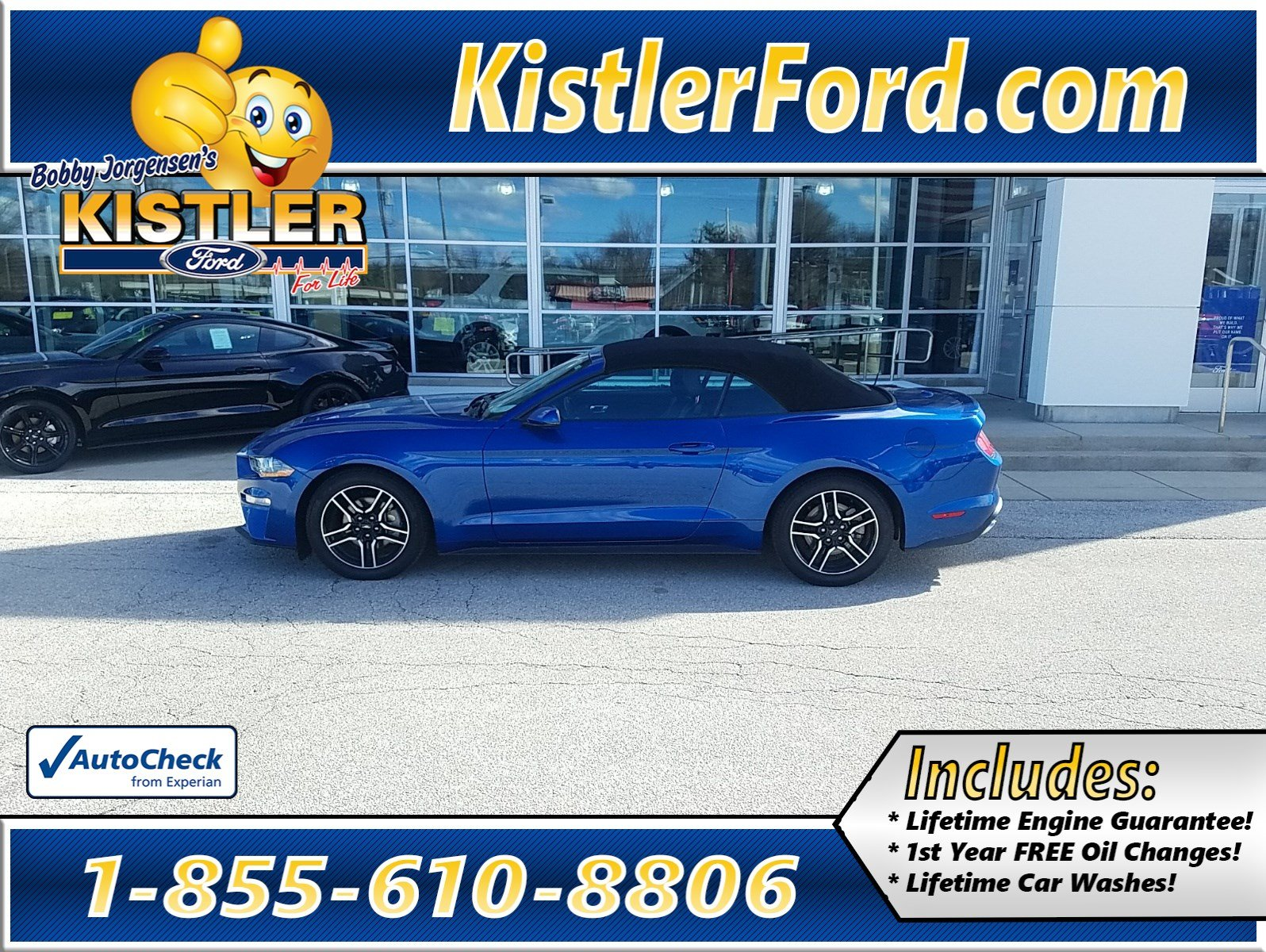 Pre owned 2018 ford mustang ecoboost premium