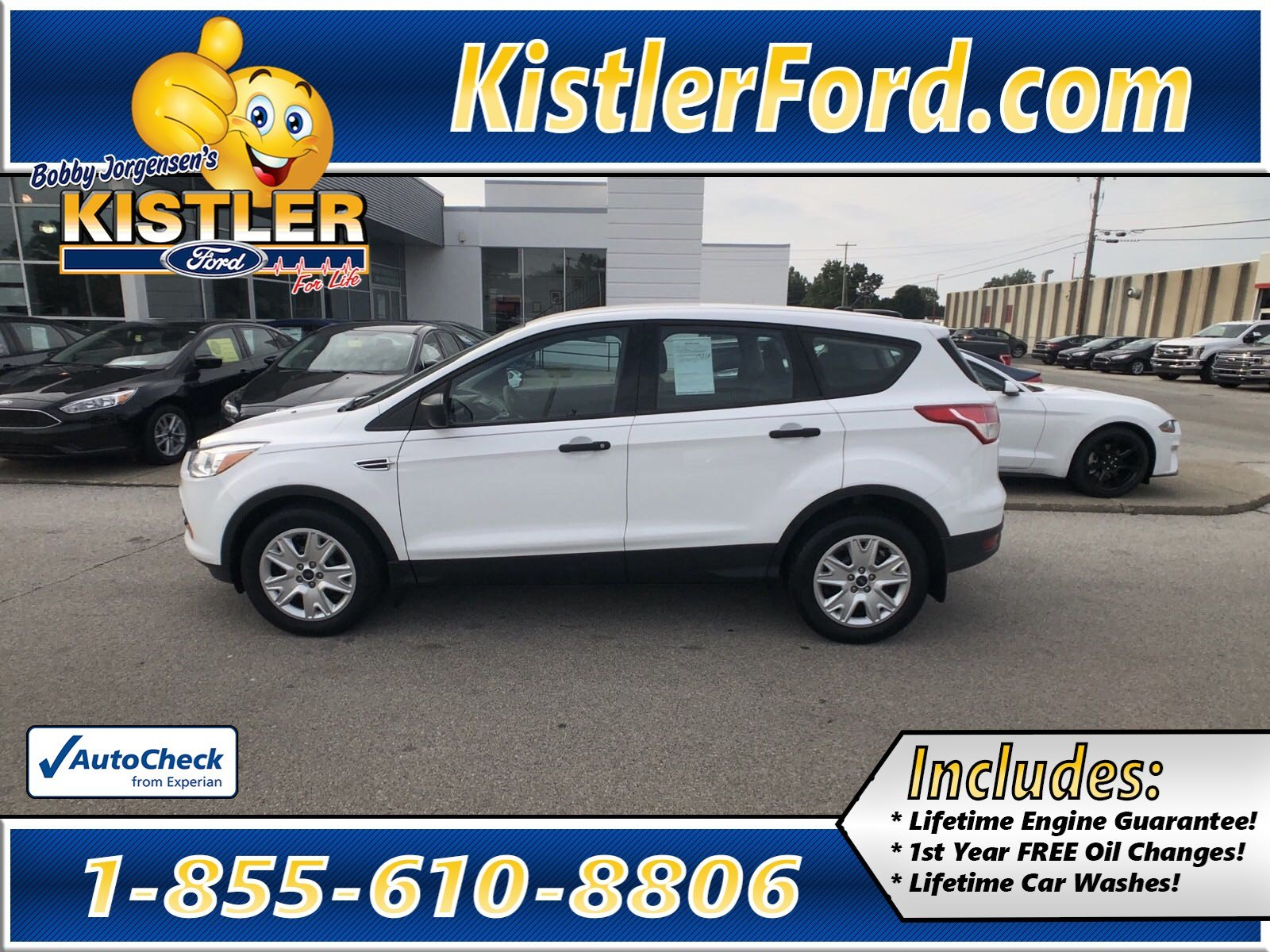 Pre owned 2016 ford escape s