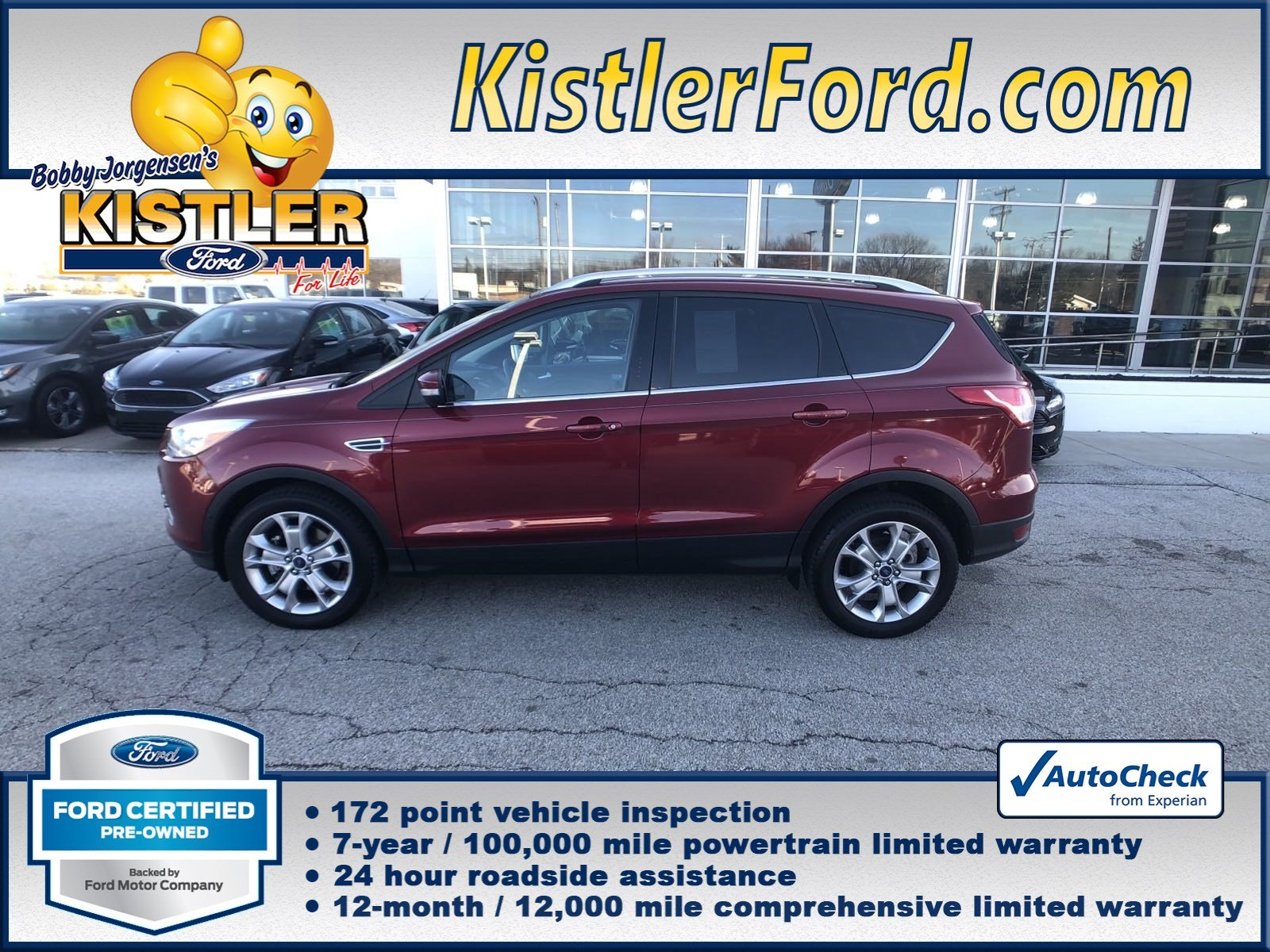 Certified Pre Owned 2016 Ford Escape Anium