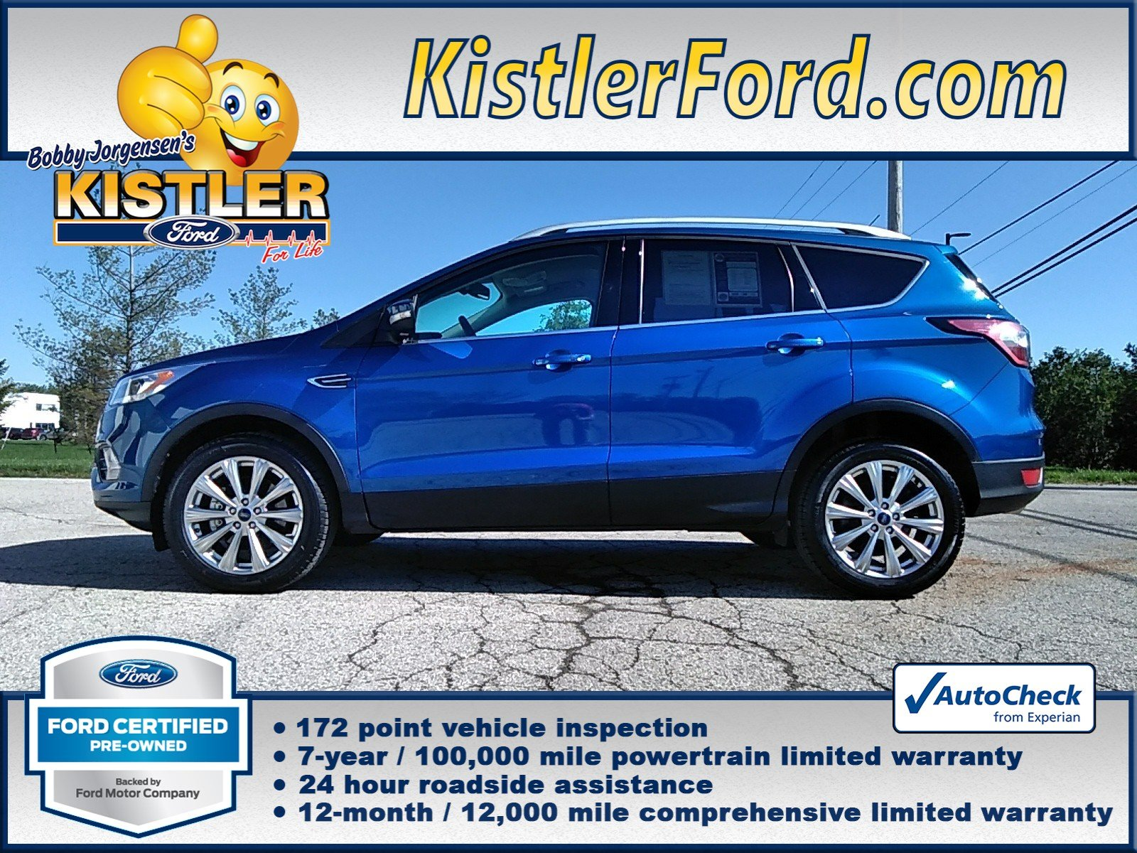 Ford Certified Pre Owned >> Certified Pre Owned 2017 Ford Escape Titanium 4wd