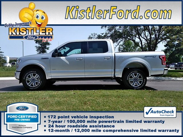 Ford Certified Pre Owned >> Certified Pre Owned 2017 Ford F 150 Xlt Crew Cab Pickup In Toledo