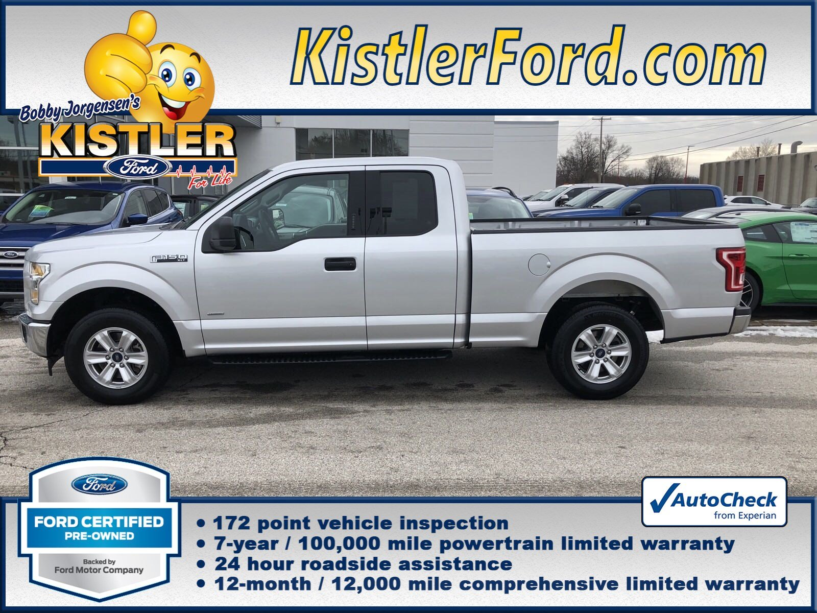 Certified Pre Owned 2017 Ford F 150 Xl