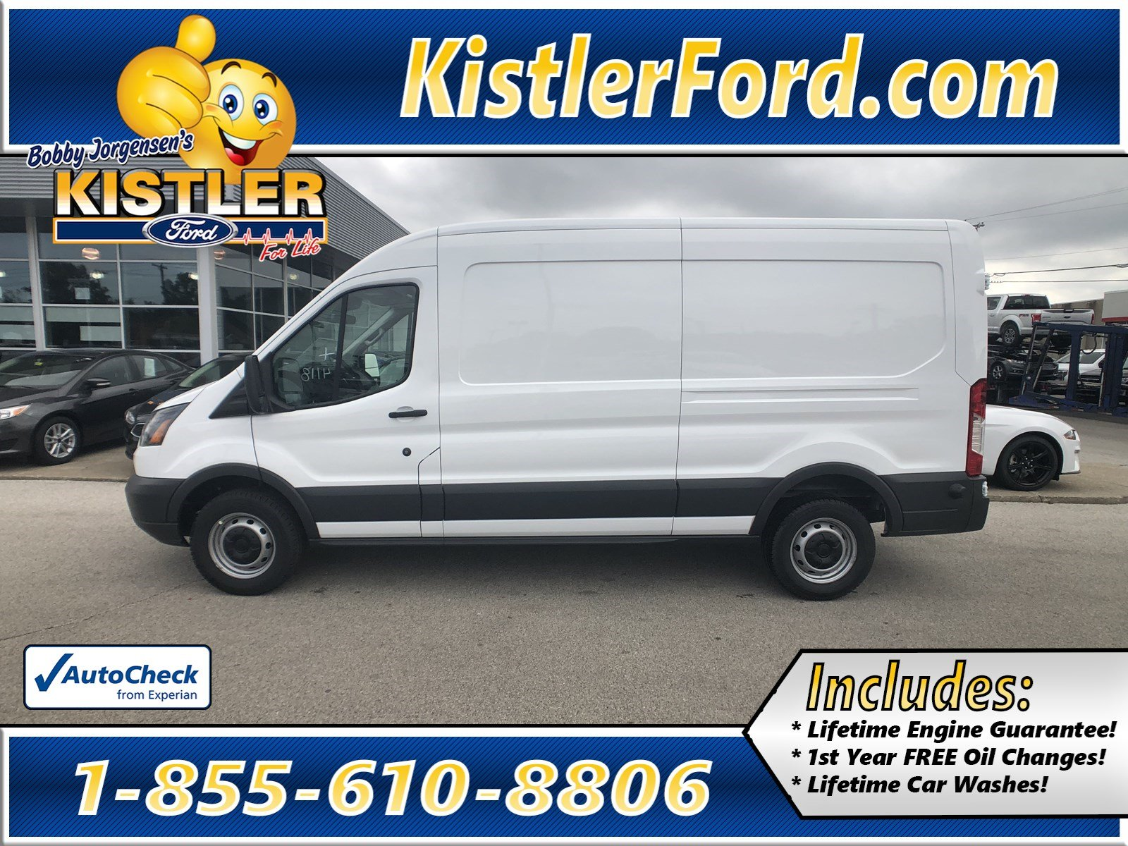 New 2018 ford transit van charcoal cloth