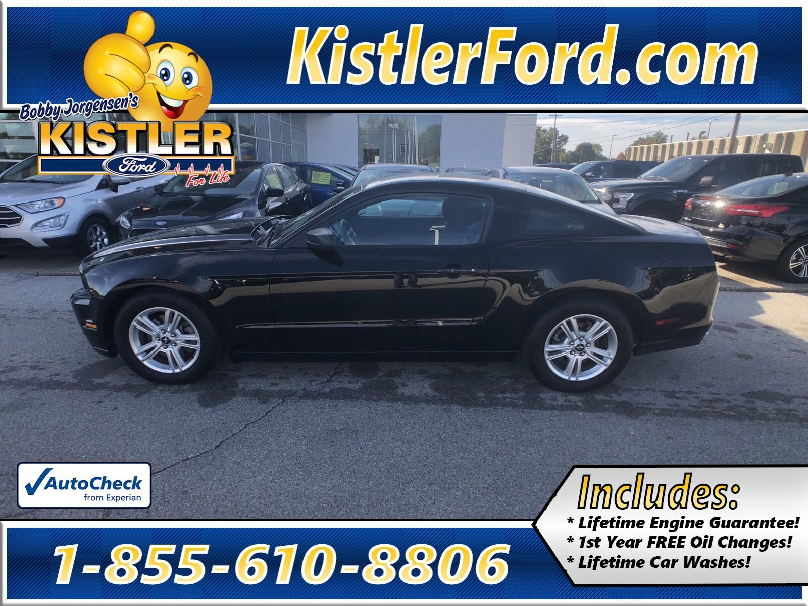 Pre owned 2013 ford mustang v6