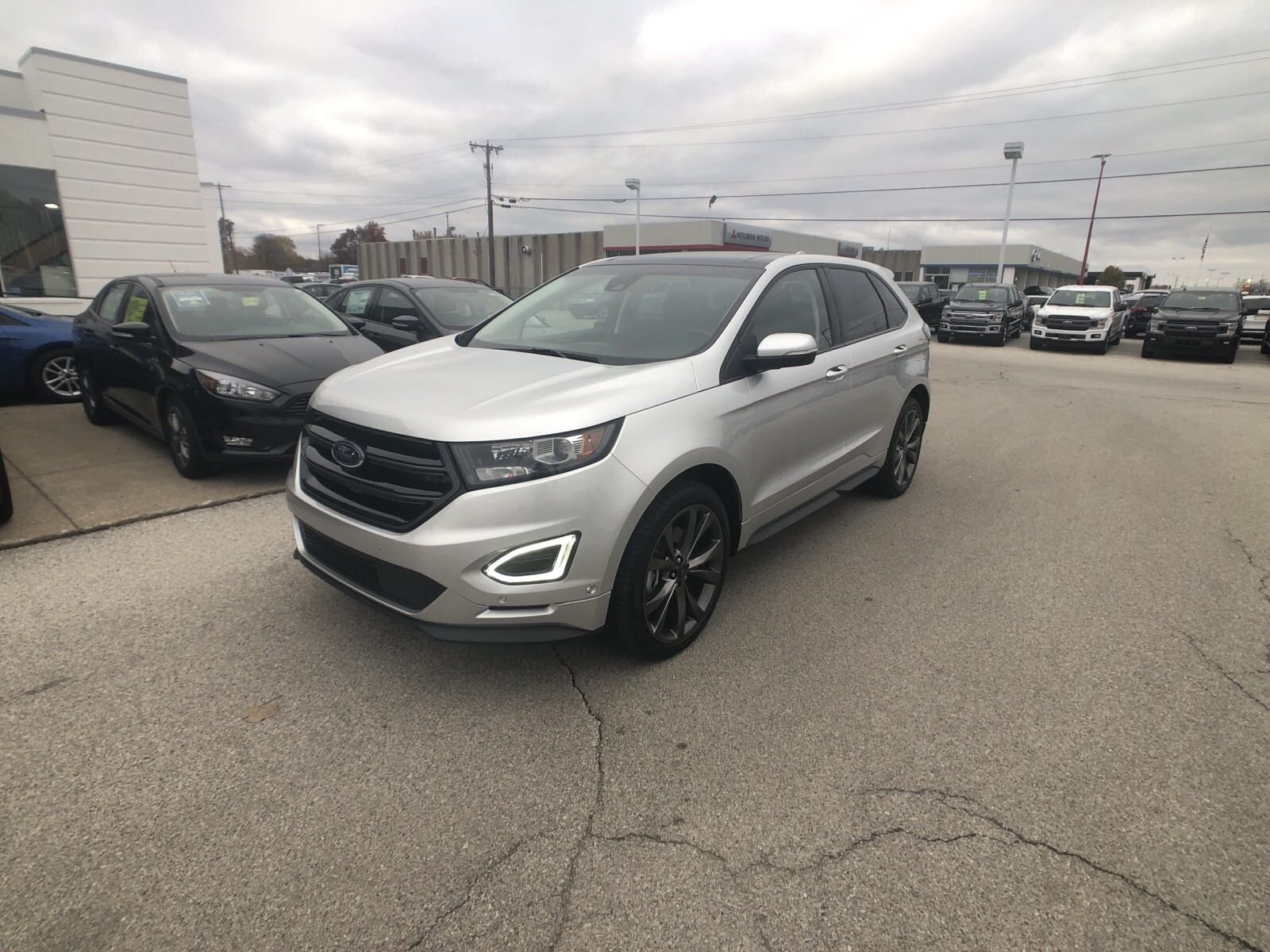 Certified pre owned 2016 ford edge sport