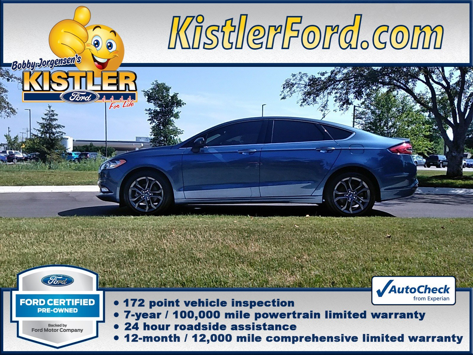 Certified Pre-Owned 2018 Ford Fusion S