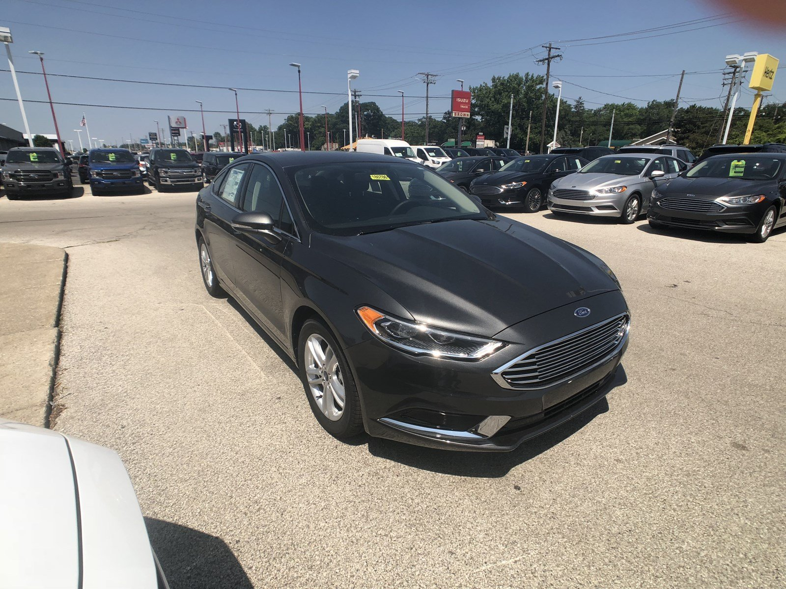 New 2018 Ford Fusion SE 4dr Car in Toledo