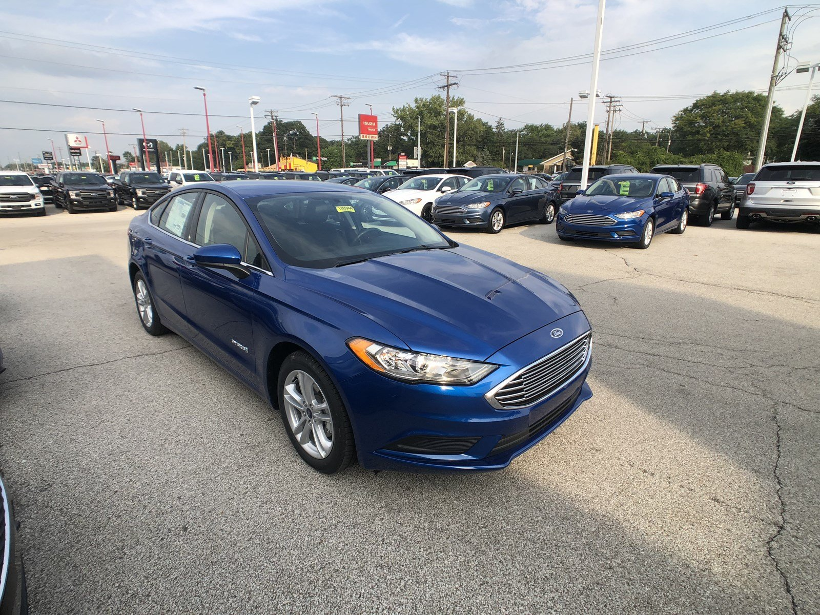 New 2018 Ford Fusion Hybrid SE 4dr Car in Toledo