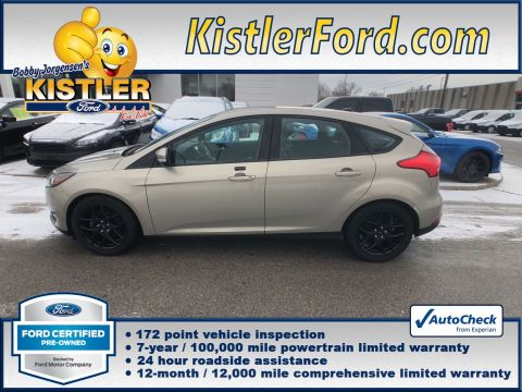 Certified Pre-Owned 2016 Ford Focus SE