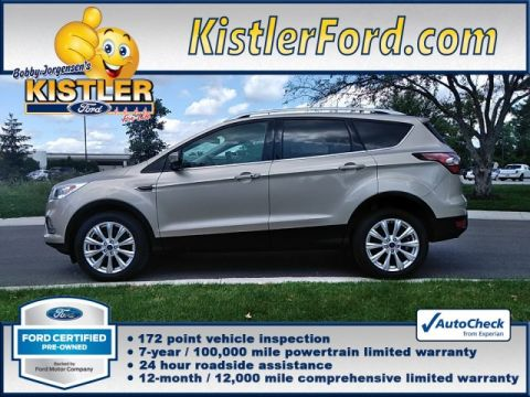 Certified Pre-Owned 2018 Ford Escape Titanium