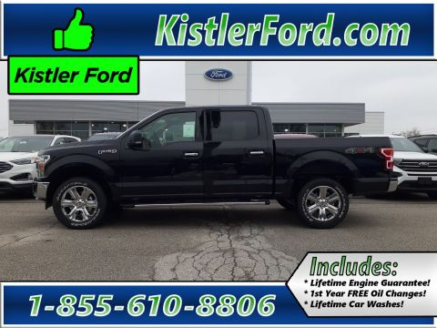 New 2020 Ford F-150 4X4 Supercrew XLT