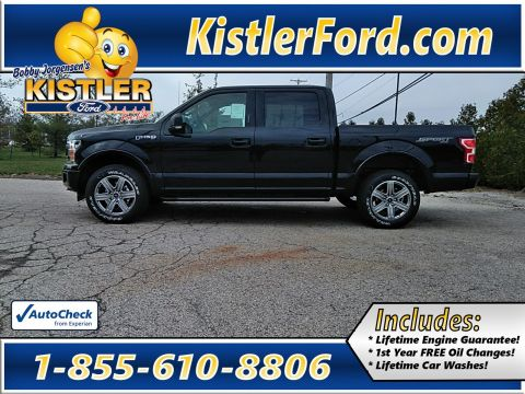 New 2019 Ford F-150 Supercrew XLT Sport