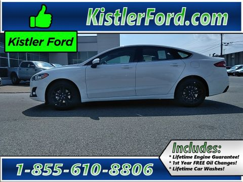 Pre-Owned 2020 Ford Fusion SE